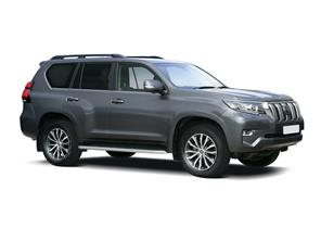 TOYOTA LAND CRUISER 2.8 D-4D 204 Invincible 5dr Auto 7 Seats